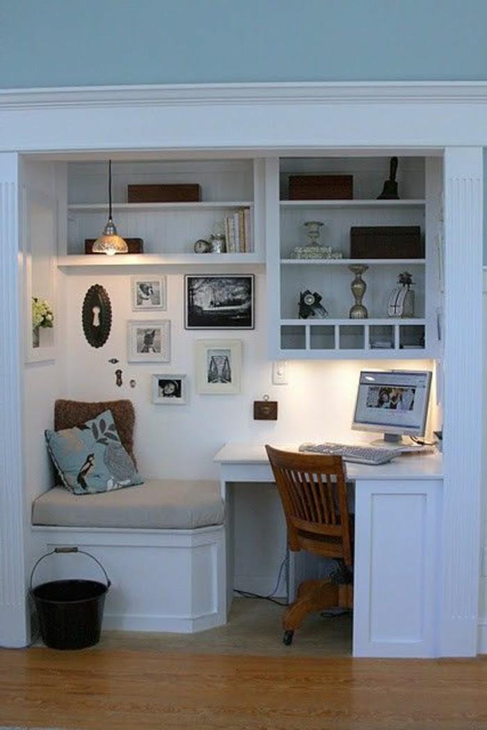 Moderne Schreibtische Sehr Praktisch Und Kompakt Kleiner Schreibtisch U2013  Kompakt Und Schön ...