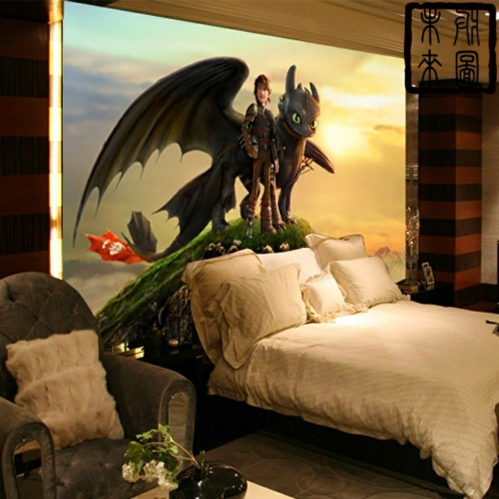 Pretty Drachen Kinderzimmer Photos Leinwand 1 Tlg Drache Dragon