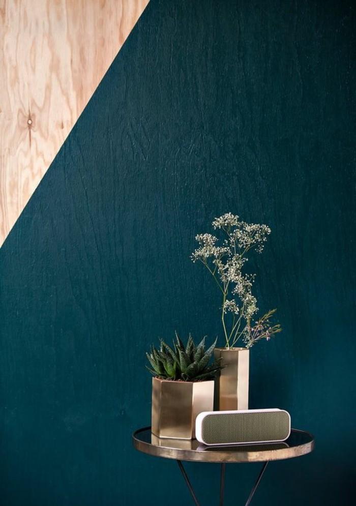Elegant Die Wunderschöne Und Effektvolle Wandfarbe Petrol!