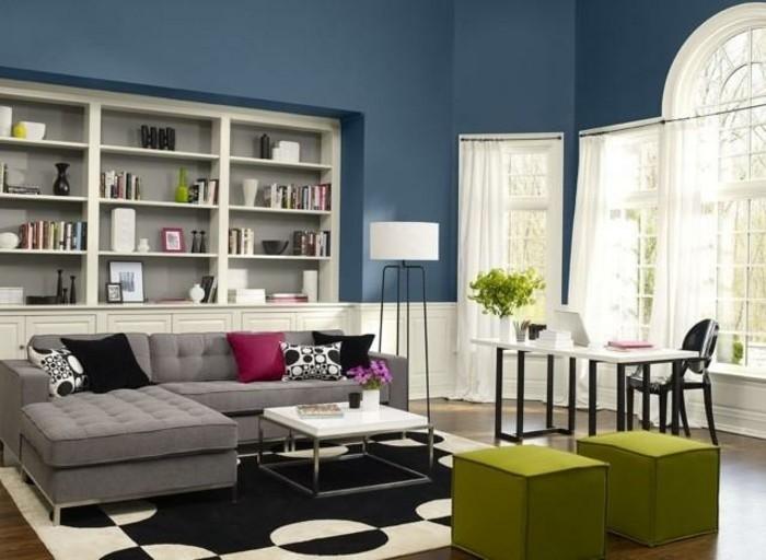 design : wohnzimmer petrol braun ~ inspirierende bilder von ... - Petrol Braun Wandfarbe