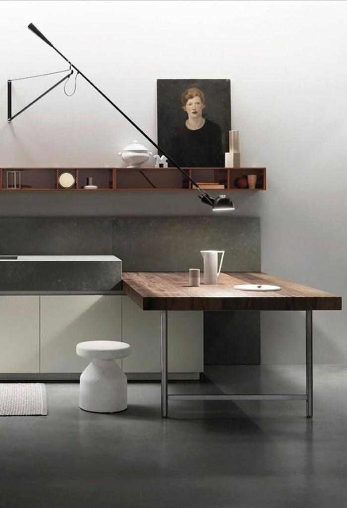 Originelle Designer Einrichtung Minimalistischer Stil