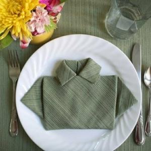Können Sie Servietten falten? Wir helfen dabei!