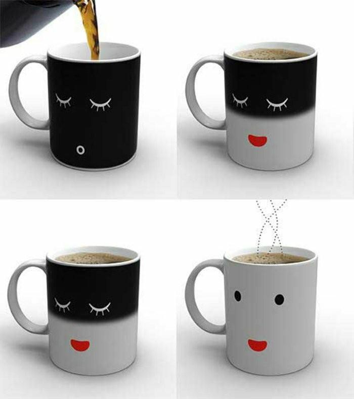 personalisierte-Kaffeetassen-mit-lustigen-Gesichtern