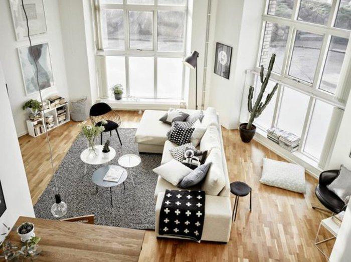 praktische-Einrichtungsideen-Wohnzimmer-kleine-funktionale-Möbel