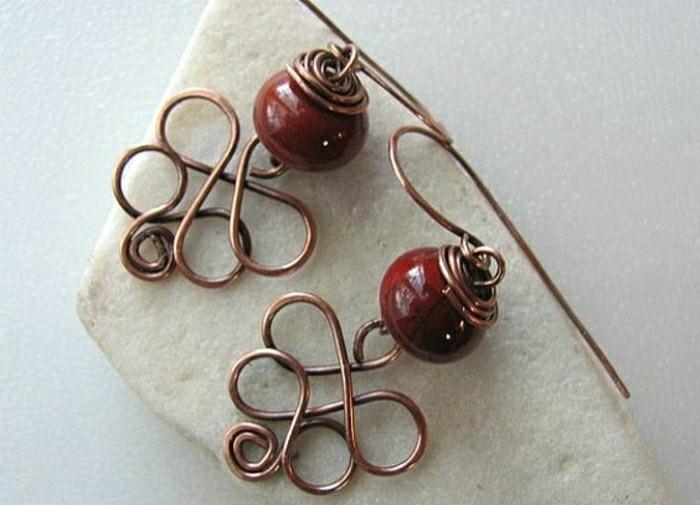 rote-Ohrringe-selber-machen