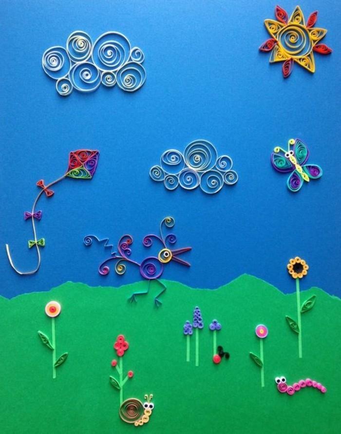 Sch ne wandbilder f r kinderzimmer einige tolle ideen - Wandbilder aus stoff ...