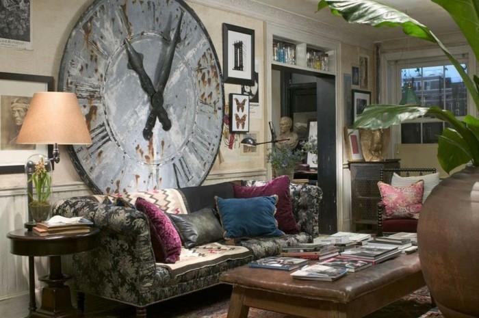 schöne-wanddekoration-im-modernen-wohnzimmer