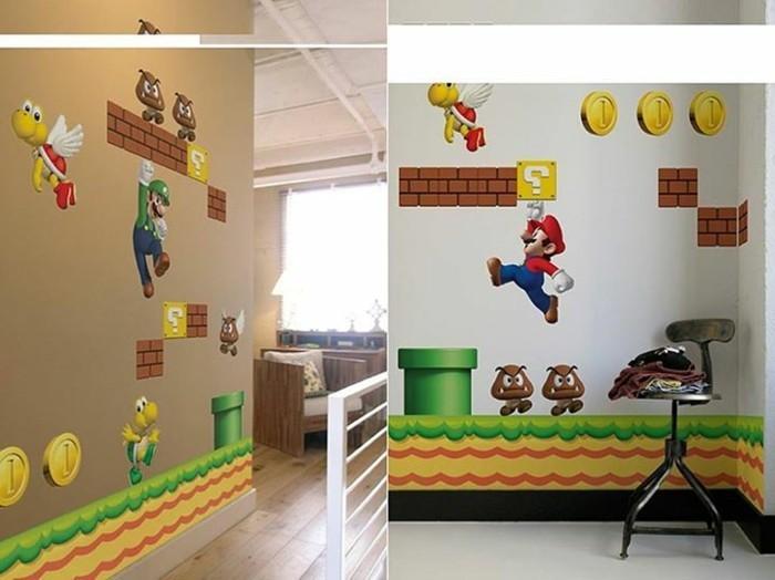 schöne-wandtattoos-mit-Super-Mario