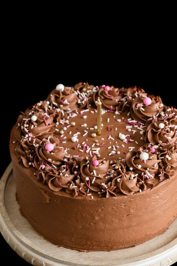 schoko kuchen zum geburtstag einfache klassische rezepte für geburtstagskuchen mit schokolade
