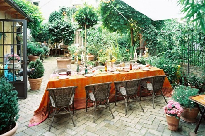 sehr-effektvolle-gestaltung-gartengestaltung-ideen-für-kleine-gärten