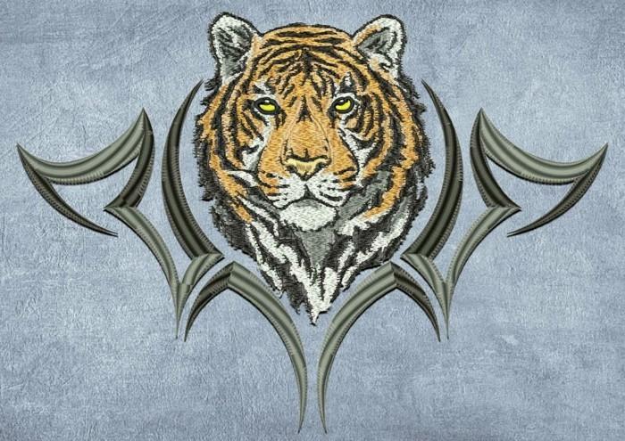 stickvorschläge-kostenlos-Kopf-von-Tiger