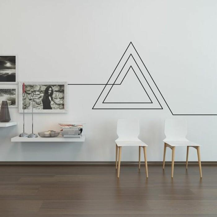 super-interessante-moderne-wohnzimmer-wandgestaltung-tolle-figuren-an-der-wand