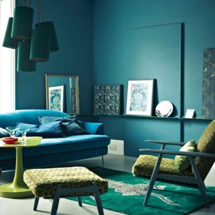 best blaue couch welche wandfarbe photos. Black Bedroom Furniture Sets. Home Design Ideas