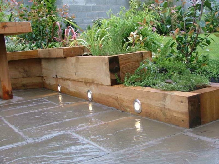 super-tolles-modell-kleingarten-grüne-pflanzen