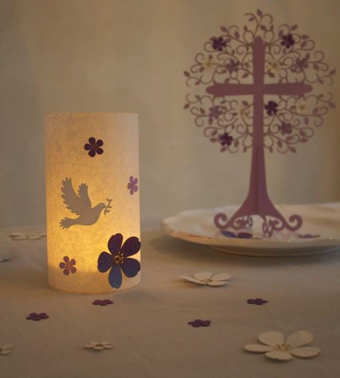 taufe-deko-wunderschöne-beleuchtung-romantisches-design