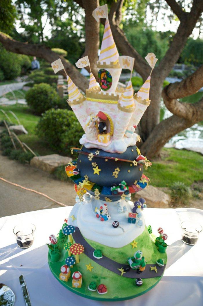 thematischer-Super-Mario-Kuchen-für-Kindergeburtstag