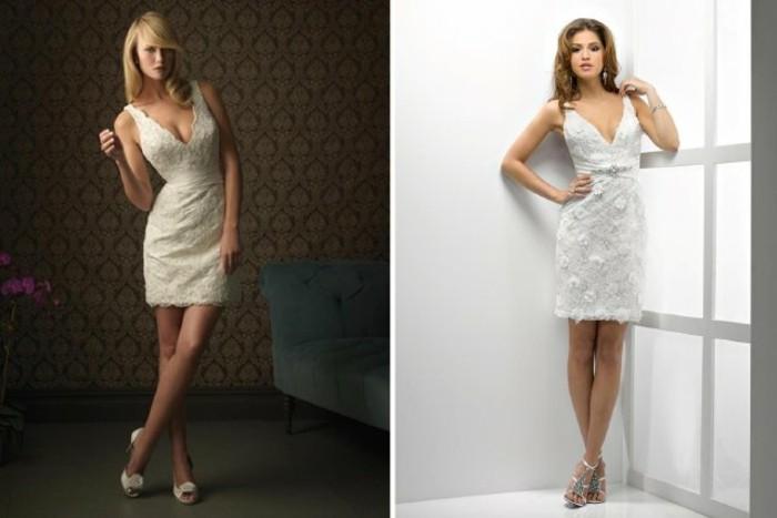 tolle-kleider-in-weiß-für-frauen-zwei-interessante-bilder