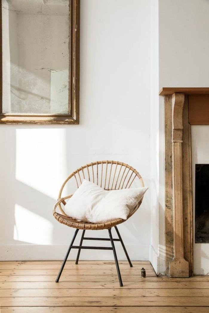 vintage-Einrichtung-Sessel-aus-Rattan-mit-attraktivem-Design