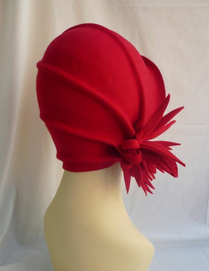 vintage-Modell-Hut-für-Damen