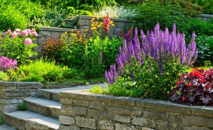 vorgarten-anlegen-sehr-schöne-pflanzen-kreative-ausstattung-tolles-modell
