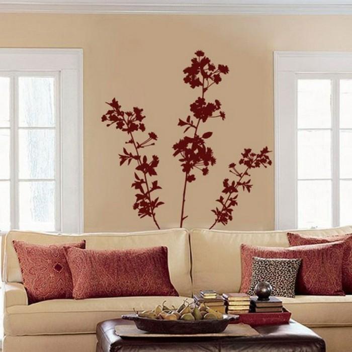 wände-streichen-ideen-kreatives-modell-wohnzimmer