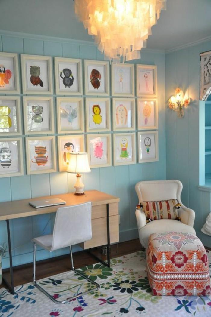 Wandbilder Fur Kinderzimmer Von Dem Kind Gezeichnet