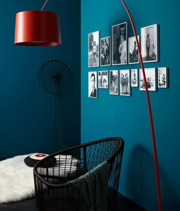 Wandfarbe Petrol ~ Kreative Deko-Ideen und Innenarchitektur