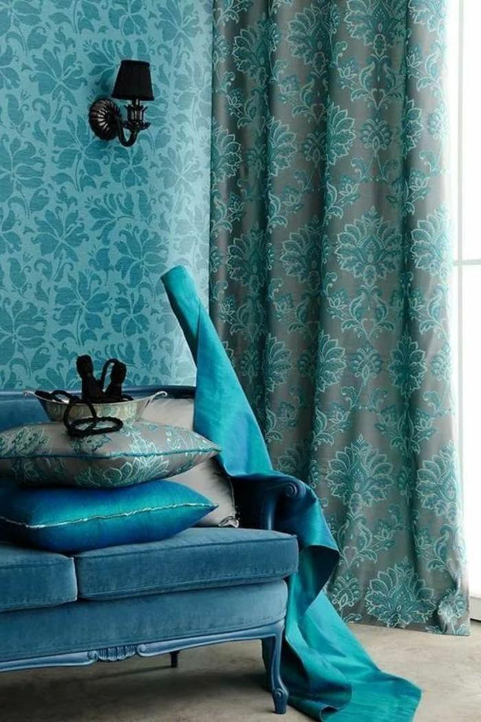 Die wunderschöne und effektvolle Wandfarbe Petrol!   Archzine.net