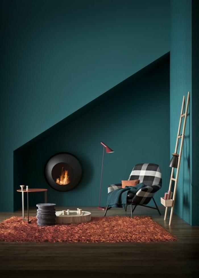 Wandfarbe Petrol die wunderschöne und effektvolle wandfarbe petrol archzine