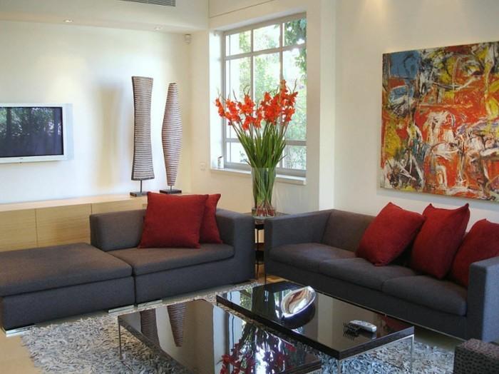 wandgestaltung-farbe-und-deko-ideen-für-ein-herrliches-wohnzimmer