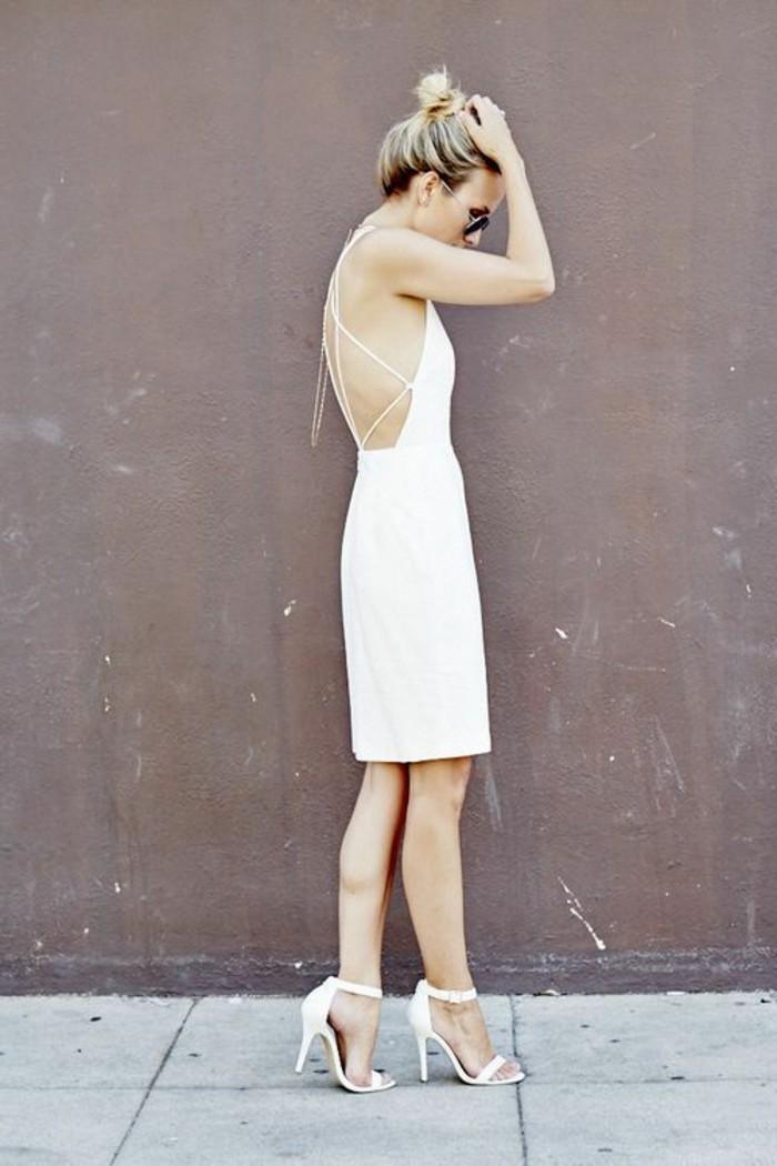 damen schuhe zum weißen kleid