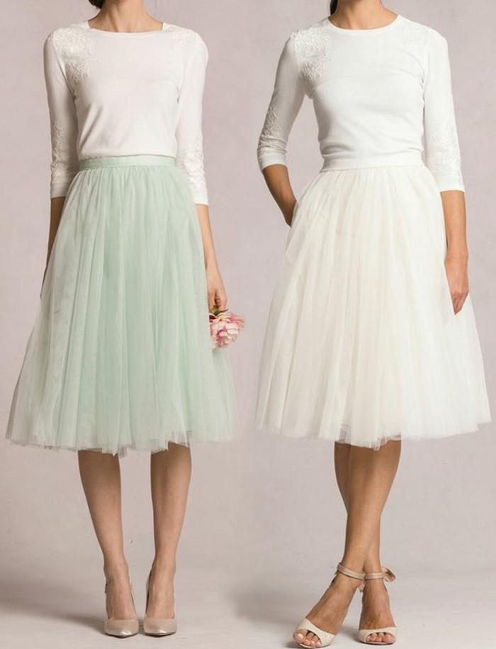 zwei-wunderschöne-kleider-in-weiß-und-hell-grün