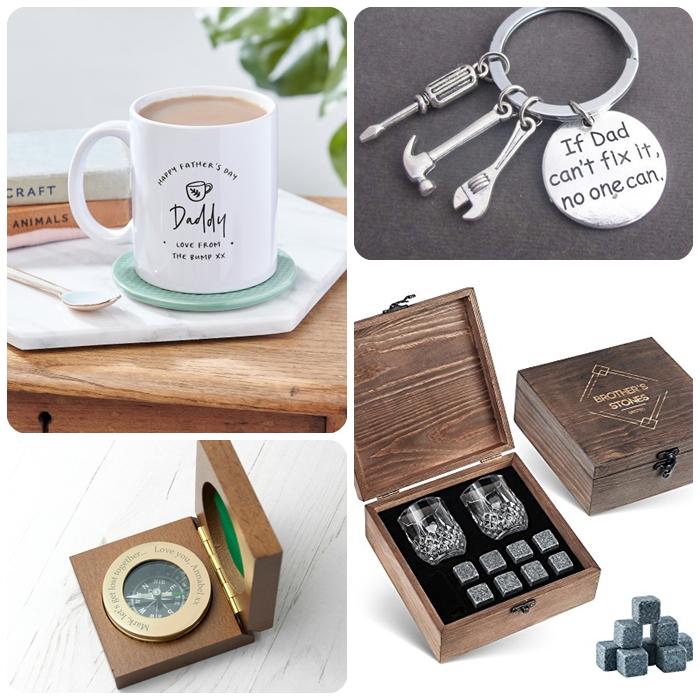 vatertag geschenkideen, persoalisierte männergeschenke, luxuriöses kompass