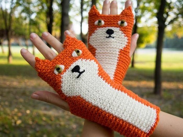 Ausgefallene Geschenkideen Handschuhe Mit Füchsen