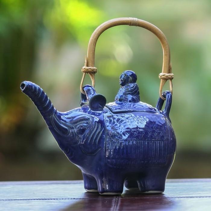 Ausgefallene-Geschenkideen-Teekanne-mit-Elephanten