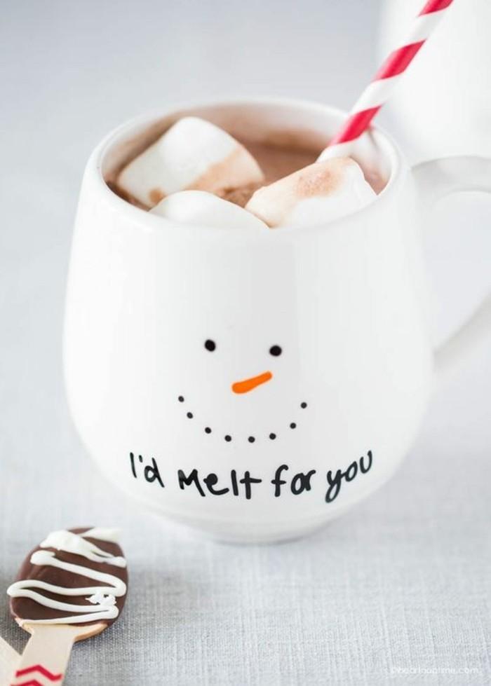 Ausgefallene-Geschenkideen-eine-Tasse-mit-Schneemann