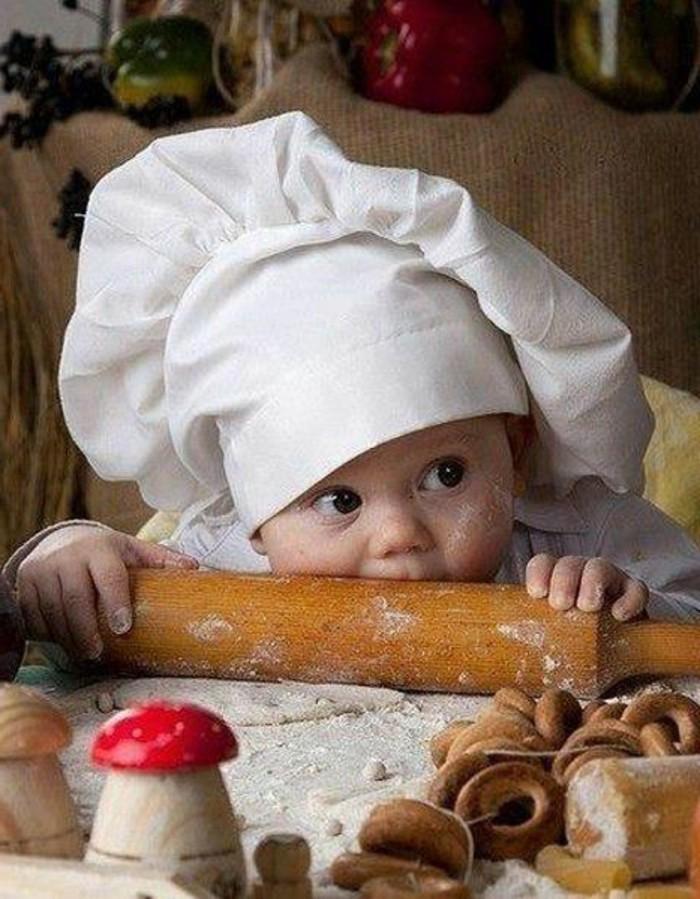 Backen-für-Kleinkinder-ein-Koch-von-früh-an