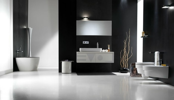 Luxus badezimmer 40 wundersch ne ideen for Einfach design badezimmer