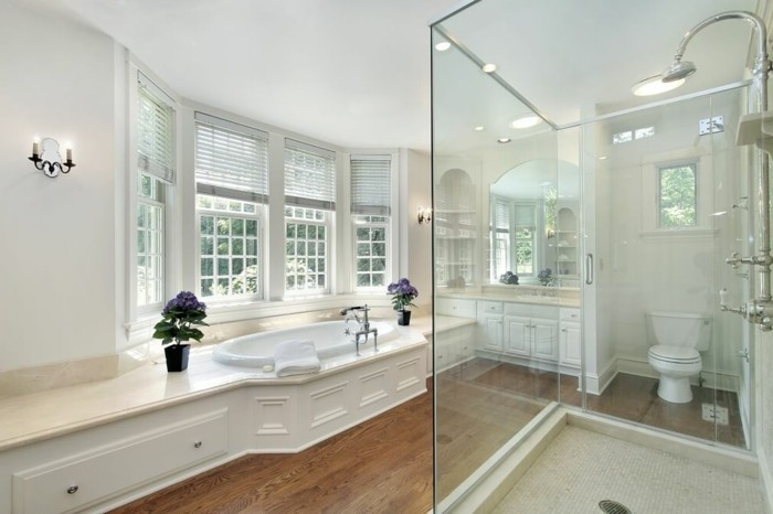 Luxus Badewanne Mit Dusche : Exklusive Badewanne und Dusche geh?ren zu dem Luxus Badezimmer