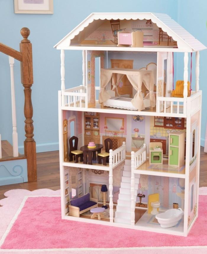 Barbie-Puppenhaus-schöne-Dekoration-für-Mädchenzimmer