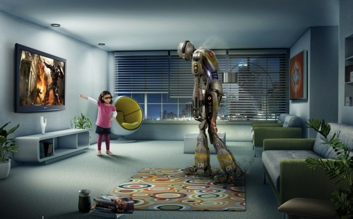 3d fernseher damit wird das bild lebendiger. Black Bedroom Furniture Sets. Home Design Ideas