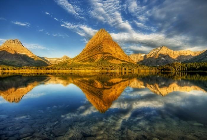 Bilder-von-Landschaften-Berg-beim-Sonnenuntergang