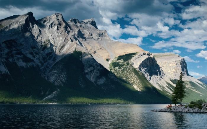 Bilder-von-Landschaften-sehr-hohe-Berg