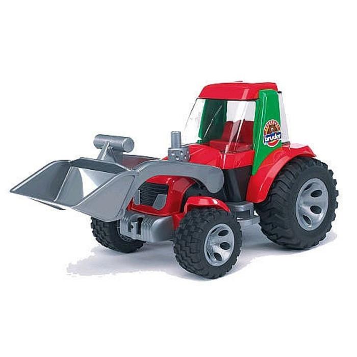 Bruder-spielzeug-Traktor-mit-Frontlader - Bruder- Roadmax