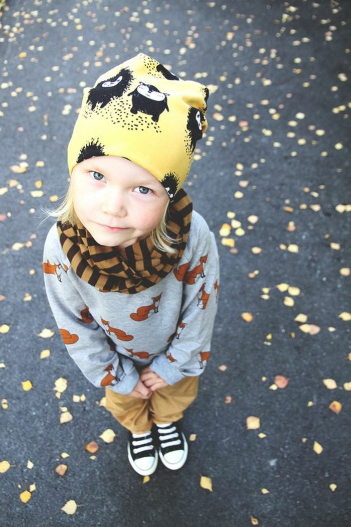 Coole-Kindermode-mit-Tieren-Muster-