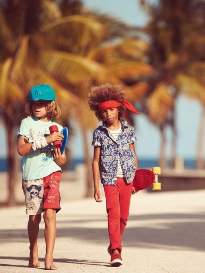 Coole-Klamotten-Shorts-mit-Piraten-