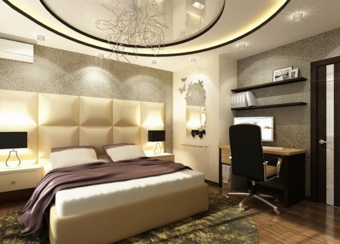 Deckenleuchte Schlafzimmer - Licht vor Schlaf - Archzine.net
