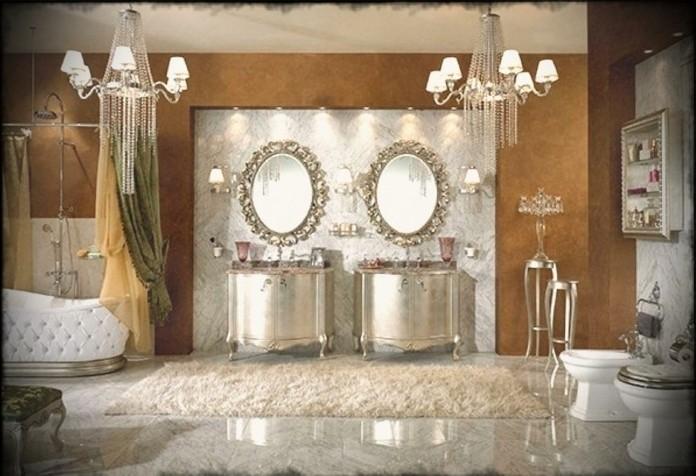 luxus badezimmer 40 wunderschne ideen archzine wohnzimmer dekoo - Luxus Badezimmer Fliesen