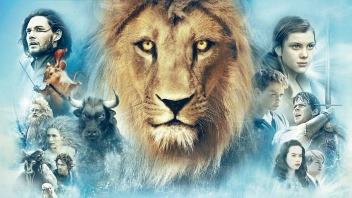 Fantasy-Abenteuer-Die-Chroniken-von-Narnia-ein-Poster