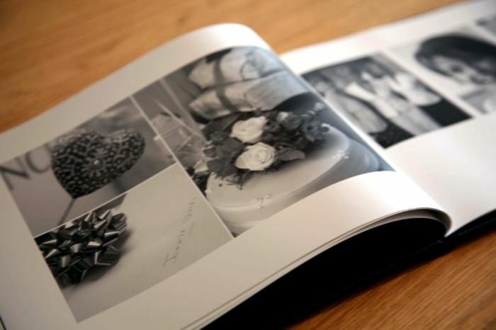 Fotoalben-Gestalten-mit-der-Torte-zur-Hochzeit